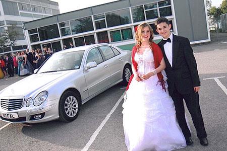 Falcon Chauffeur Drive school prom